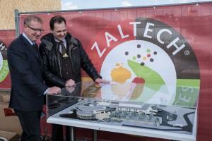 Zaltech-Spatenstich 08542